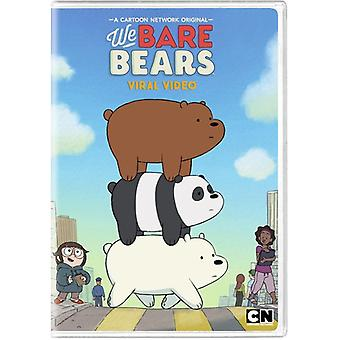 We Bare Bears: Viral Video [DVD] USA import