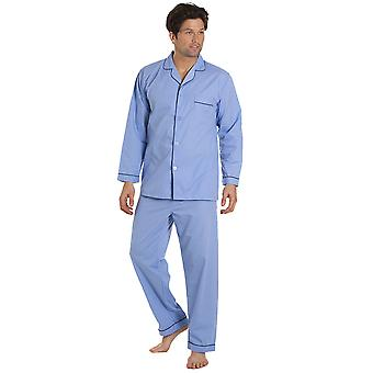 Haigman Mens Easy Care Long Pyjama Lounge Wear (Pack of 2)