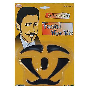 Barbas y bigotes de conjunto de los hombres con vello facial Casanova
