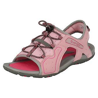 Childrens Hi-Tec åpen tå sandaler Turtlebeach