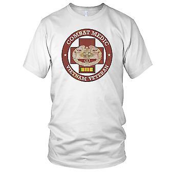 Combat Medic Vietnam Grunge effetto distintivo Kids T-Shirt