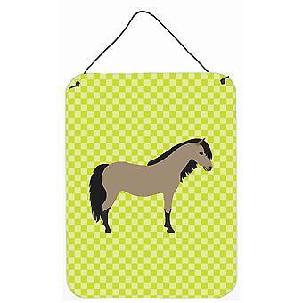 Welsh poney cheval vert mur ou porte accrocher impressions