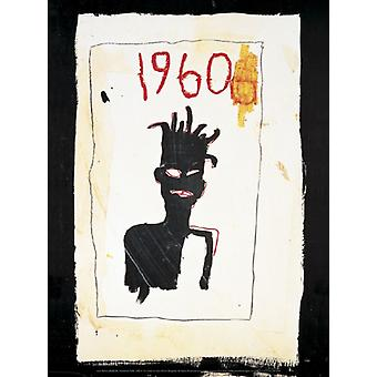 Untitled (1960) 1983 Poster Print by Jean-Michel Basquiat (12 x 16)