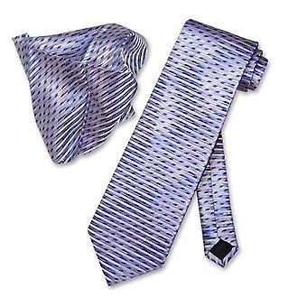 Antonio Ricci NeckTie Handkerchief Design Pattern Men's Neck Tie Set