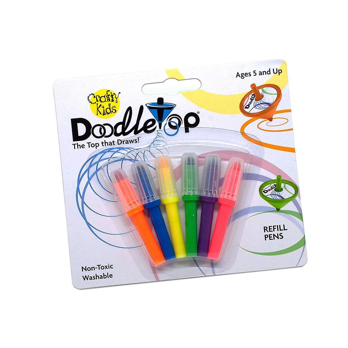 Crafty Kids Doodletop Refill Pens
