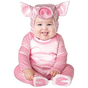 Lil' Piggy Pink Pig Animal Toddler Girls Costume