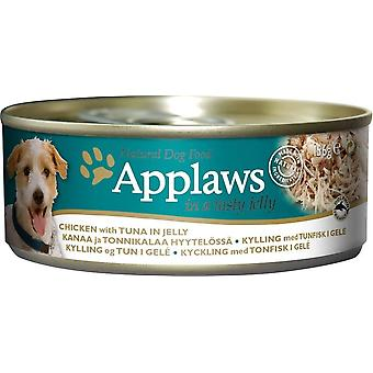 Applaws Dog Can Food Chicken With Tuna In Jelly 156g (Pack of 12)
