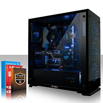 Heftige APACHE Gaming PC, Fast Intel Core i5 7400 3,5GHz, 1TB SSHD, 8GB RAM, GTX 1660 6GB