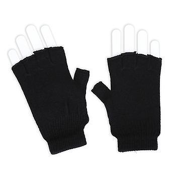 Mănușă de tricotat accesoriu negru