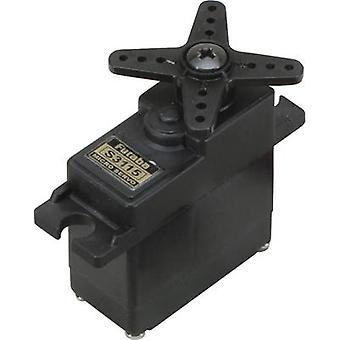 Futaba Micro servo S3115 Analogue servo Gear box material: Plastic Connector system: Futaba