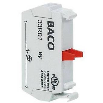 BACO 33R10 Contact 1 maker momentary 600 V 1 pc(s)