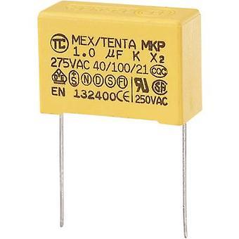 MKP-X2 1 PC MKP-X2 Unterdrückung Kondensator Radial führen 1 µF 275 V AC 10 % 27,5 mm (L x b x H) 32 x 13 x 23 mm