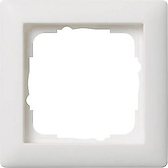 GIRA 1x Frame System 55, Standard 55 Pure white, Matt 021104