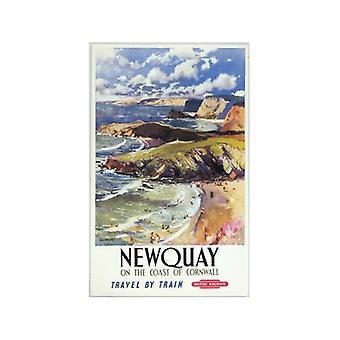 Newquay (gamle jernbane E.kr.) Køleskabsmagnet
