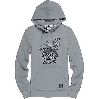 Element Rattle Pullover Hoody in Grey Heather