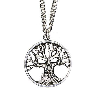 Alchemia Gotik drzewo śmierci wisiorek