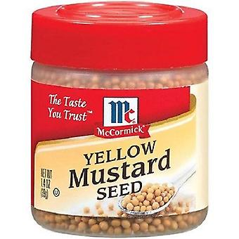 McCormick Specialty Herbs And Spices Yellow Mustard Seed