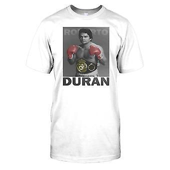 Roberto Duran - Manos de Piedra - Boxing Mens T Shirt