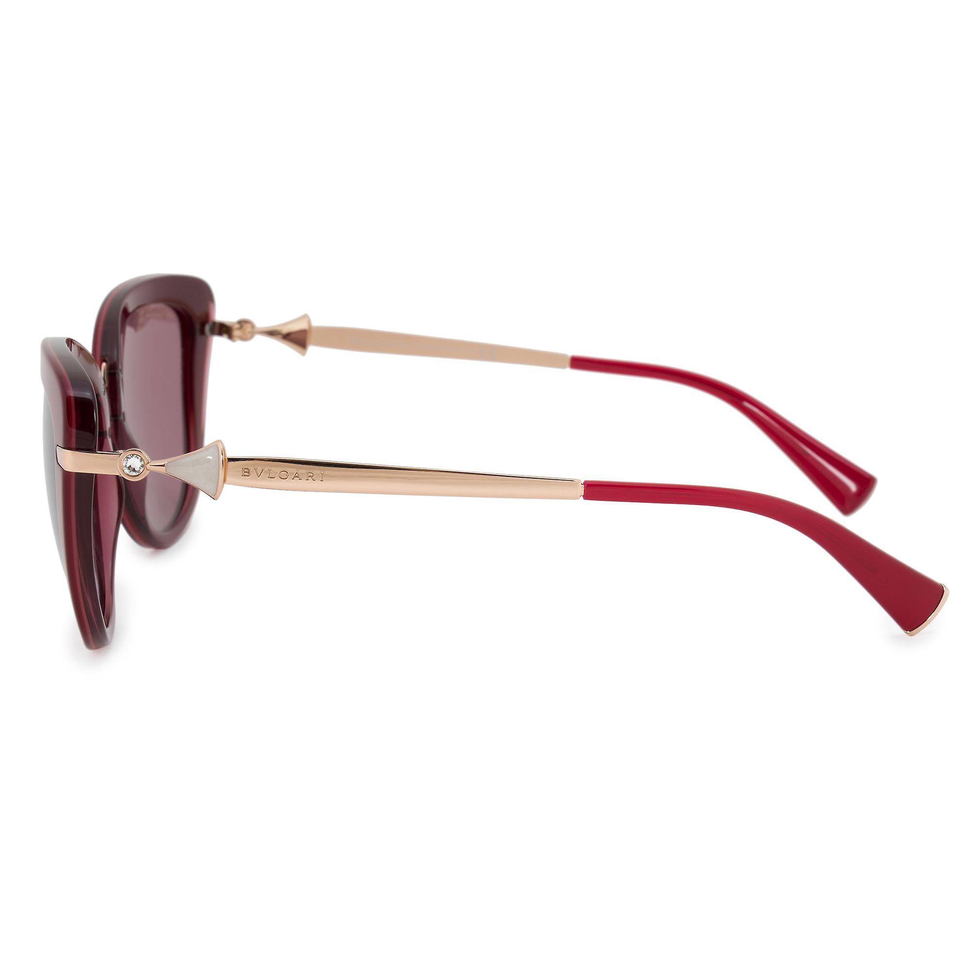 Bvlgari Cat Eye Sunglasses BV8193B 54321A 54