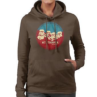 Felpa con cappuccio originale Trooper di Stormtrooper Mt Rushmore donne