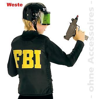 Skyddsväst barn FBI kostym barn använda västen barn kostym