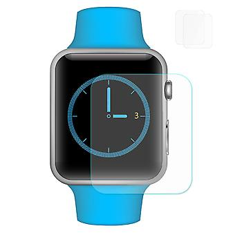 2 pcs HAT PRINCE Apple Watch Series 3/2/1 38mm Tempered Glass 0.2 mm