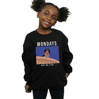 Disney Prenses Kızlar Yasemin Pazartesi Sweatshirt gibi Beni Got