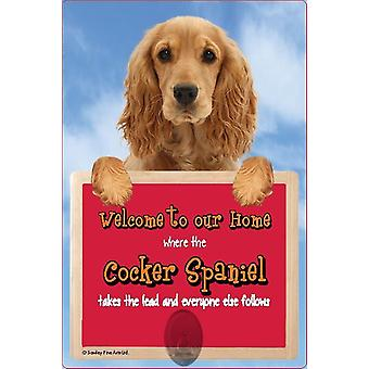 Scottish Collectables Cocker Spaniel 3D Lead Hanger Wall Plaque