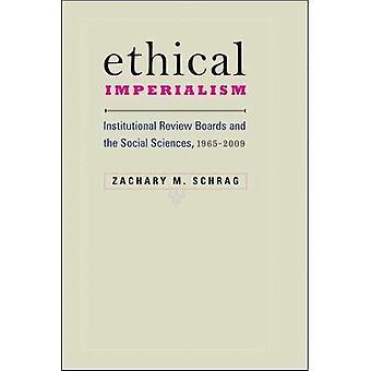 Etiske imperialisme: Institusjonelle Review Boards og samfunnsvitenskap 1965-2009