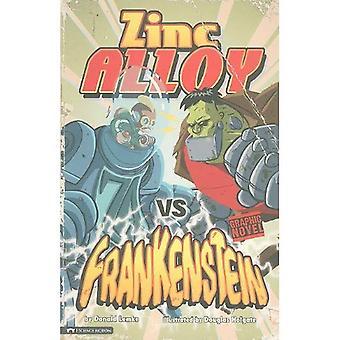 Zinco da liga vs Frankenstein (gráfico faíscas)