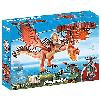 PLAYMOBIL 9459 DreamWorks Dragons Snotlout und Hookfang