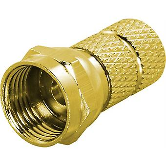 F-connector, male, 6.2mm RG59 / antenna cabling