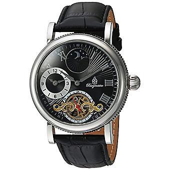 Burgmeister analógico relógio unissex com couro BM226-122
