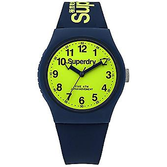 SUPERDRY Quartz analogue watch Unisex Silicone wrist watch SYG164UN