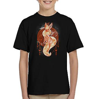 Pokemon tähtitaivas palo Lasten t-paita