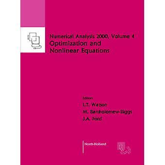 Ickelinjära ekvationer och optimering av Watson & L. T.