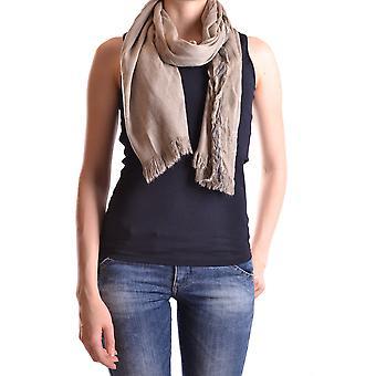 Dondup Ezbc051026 Women's Beige Wool Scarf
