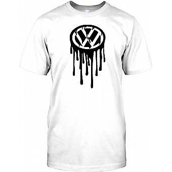 VW smelte - Volkswagen Inpsired Herre T Shirt