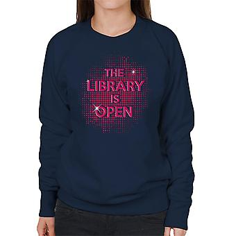 Drag Queens de bibliotheek Is Open vrouwen Sweatshirt