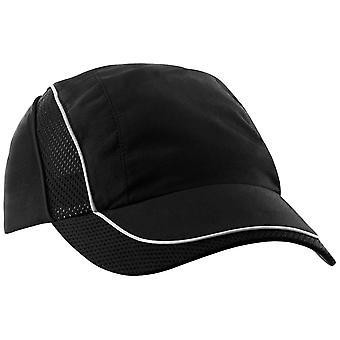 Beechfield Coolmax® Flow Mesh Baseball Cap / Headwear (Pack of 2)