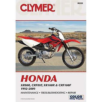 Clymer Honda XR80R, CRF80F, XR100R & CRF100F 1992-2009 (Clymer Motorcycle Repair)