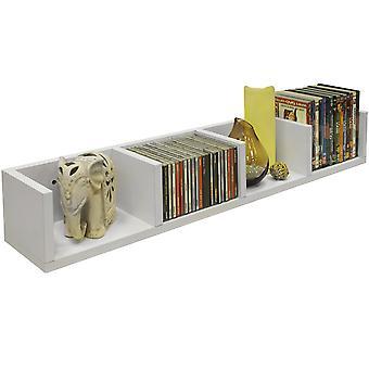 Virgo - Cd 84 / 56 Dvd / Blu-ray / medios de almacenamiento estante - blanco