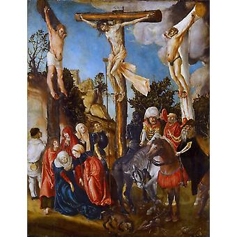 Crucifixion, Lucas Cranach the Elder, 58.5 x45cm