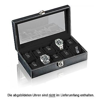Designhütte watch box solid 10 black 70005-130