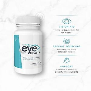 Eye Health - Supports Eyes & Vision - Natural Eye Supplement - Packed with Essential Eye Vitamins - Contains Omega 3, Bilberry & Lutein - 60 Tablets