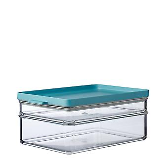 Mepal Omnia Breakfast Duo Layer Storage Box, Nordic Green