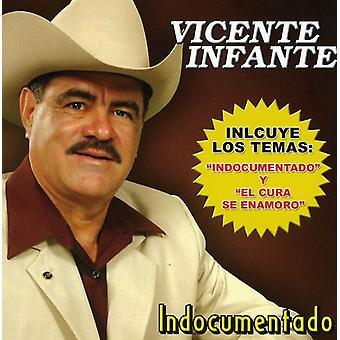 Vicente Infante - Indocumentado [CD] USA import