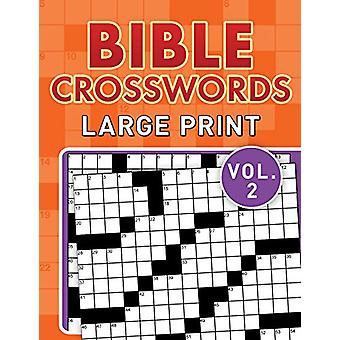 Bible Crosswords Large Print Vol. 2 by Compiled by Barbour Staff - 97