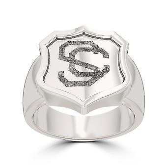 University of Southern California Ring In Sterling Silver Design by BIXLER