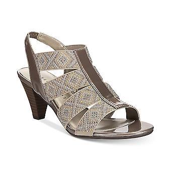Karen Scott Womens Nicolle tissu Open Toe Occasion spéciale Slingback Sandals